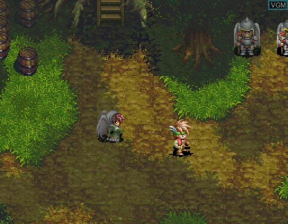 Image in-game du jeu Albert Odyssey - Legend of Eldean sur Sega Saturn