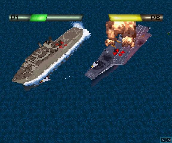 Image in-game du jeu Battle Stations sur Sega Saturn