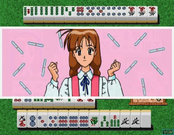 Image in-game du jeu Maajan Tenshi Angel Lips sur Sega Saturn