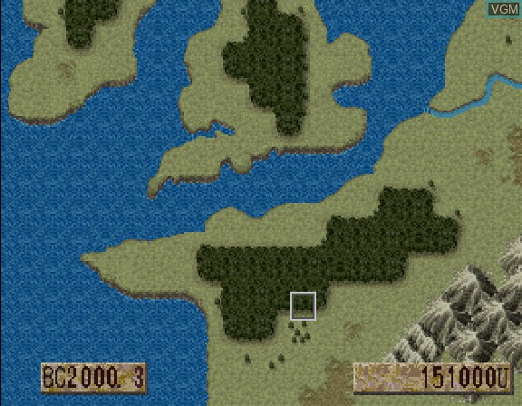 Image in-game du jeu Nairugawa no Yoake sur Sega Saturn