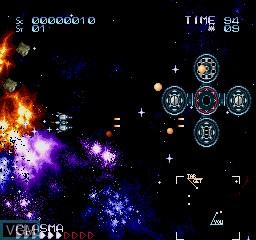 Image in-game du jeu Zugya sur Sharp X68000