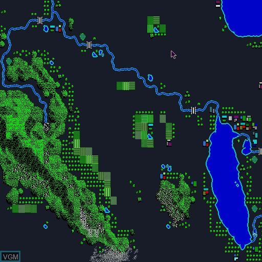 Image in-game du jeu A Ressha de Gyoukou II sur Sharp X68000