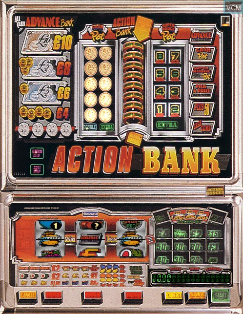 Image in-game du jeu Action Bank sur Machines à sous