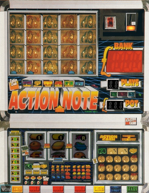 Image in-game du jeu Action Note sur Machines à sous