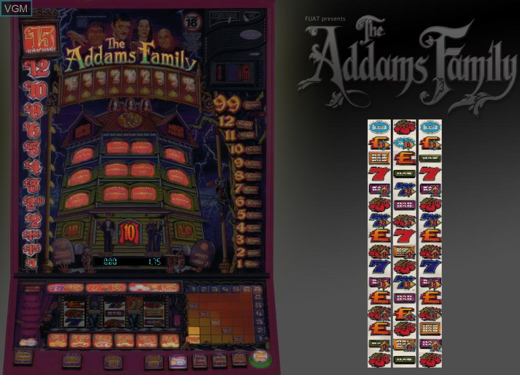 Image in-game du jeu Addams Family, The sur Machines à sous