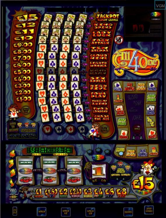 Image in-game du jeu All 4 One sur Machines à sous