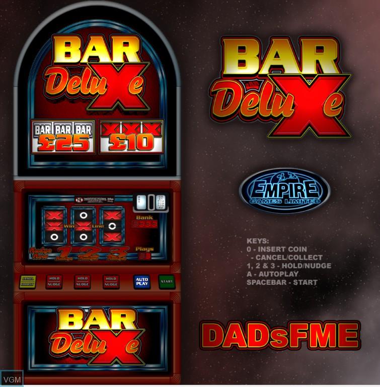 Bar X Deluxe