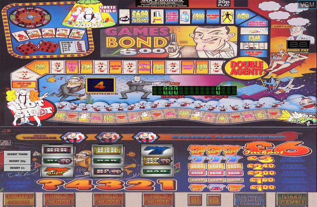 Games Bond 006
