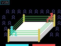Image du menu du jeu Heavy Boxing sur Sord-M5