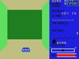 Image in-game du jeu Word Maze sur Sord-M5