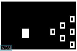 Image in-game du jeu Bowling sur RCA Studio II