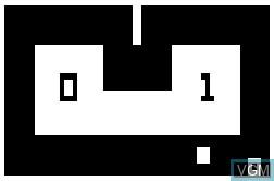 Image in-game du jeu TV Arcade Speedway - Tag sur RCA Studio II