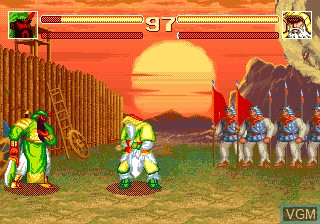 Image in-game du jeu Sango Fighter sur Funtech Super A'Can