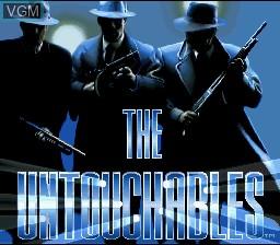 Image de l'ecran titre du jeu Untouchables, The sur Nintendo Super NES