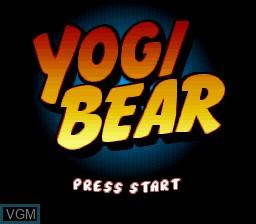 Image de l'ecran titre du jeu Yogi Bear sur Nintendo Super NES