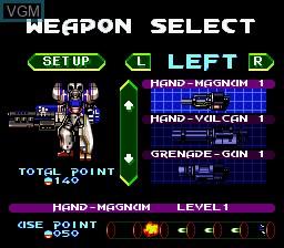 Image du menu du jeu Accele Brid sur Nintendo Super NES