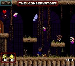 Image du menu du jeu Addams Family, The sur Nintendo Super NES