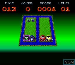 Image du menu du jeu Brainies, The sur Nintendo Super NES
