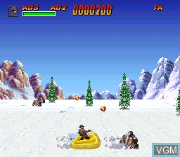 Image du menu du jeu Indiana Jones' Greatest Adventures sur Nintendo Super NES