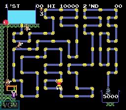 Image du menu du jeu Nichibutsu Arcade Classics sur Nintendo Super NES