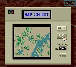 Image du menu du jeu Sim City sur Nintendo Super NES