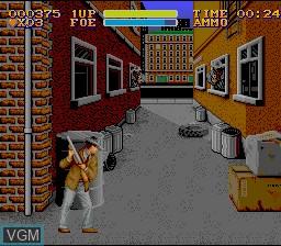 Image du menu du jeu Untouchables, The sur Nintendo Super NES