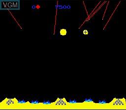Image du menu du jeu Arcade's Greatest Hits - The Atari Collection 1 sur Nintendo Super NES