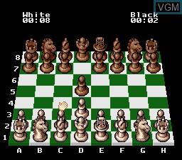 Image in-game du jeu Chessmaster, The sur Nintendo Super NES