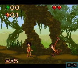 Image in-game du jeu Jungle Book, The sur Nintendo Super NES