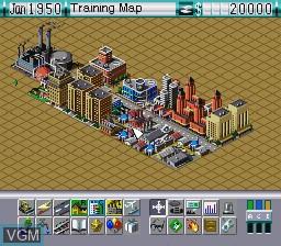 Image in-game du jeu Sim City 2000 sur Nintendo Super NES
