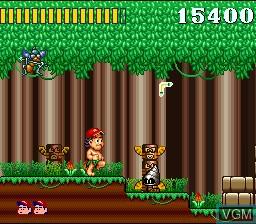 Image in-game du jeu Super Adventure Island sur Nintendo Super NES