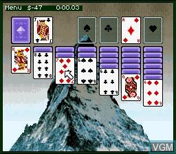 Image in-game du jeu Super Solitaire sur Nintendo Super NES