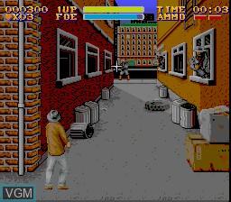 Image in-game du jeu Untouchables, The sur Nintendo Super NES