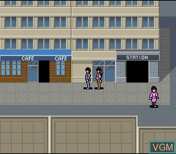 Image in-game du jeu 3x3 Eyes - Seima Kourinden sur Nintendo Super NES