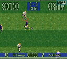 Image in-game du jeu 90 Minutes - European Prime Goal sur Nintendo Super NES