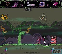 Image in-game du jeu AAAHH!!! Real Monsters sur Nintendo Super NES