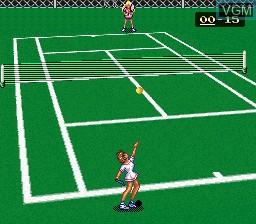 Image in-game du jeu Ace wo Nerae! sur Nintendo Super NES