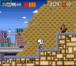 Image in-game du jeu Action Pachio sur Nintendo Super NES