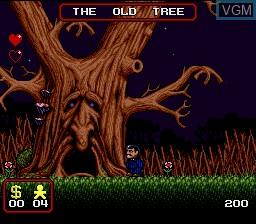 Image in-game du jeu Addams Family, The sur Nintendo Super NES