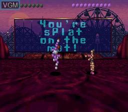 Image in-game du jeu Ballz 3D sur Nintendo Super NES
