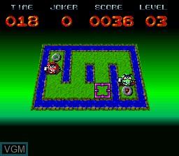 Image in-game du jeu Brainies, The sur Nintendo Super NES