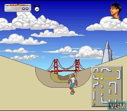 Image in-game du jeu California Games II sur Nintendo Super NES