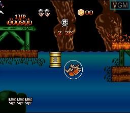 Image in-game du jeu Dragon's Lair sur Nintendo Super NES