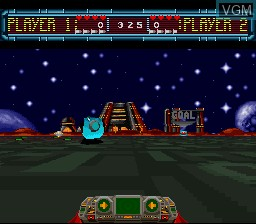 Image in-game du jeu Space Football - One on One sur Nintendo Super NES