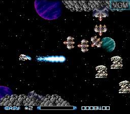 Image in-game du jeu Super R-Type sur Nintendo Super NES