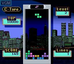 Image in-game du jeu Super Tetris 2 + Bombliss - Gentei Han sur Nintendo Super NES