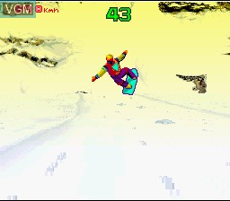 Image in-game du jeu Winter Extreme Skiing and Snowboarding sur Nintendo Super NES