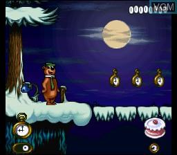 Image in-game du jeu Yogi Bear sur Nintendo Super NES
