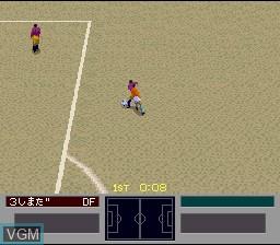 Image in-game du jeu '96 Zenkoku Koukou Soccer Senshuken sur Nintendo Super NES