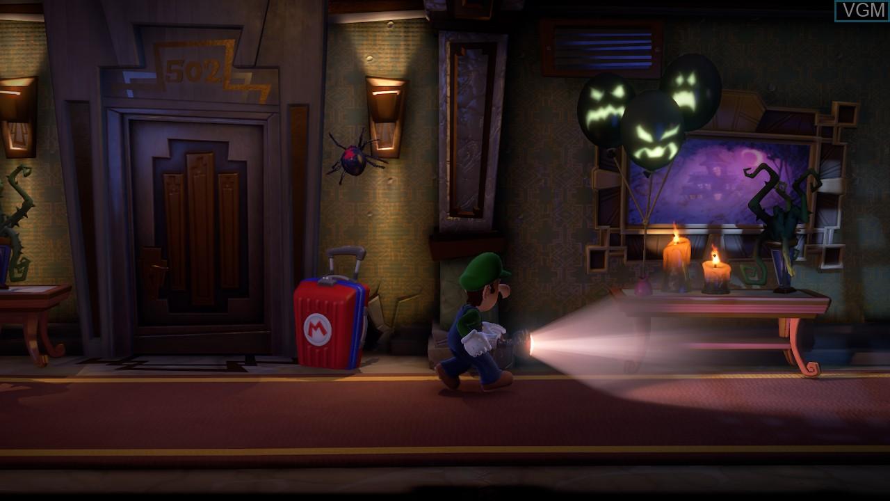 Image in-game du jeu Luigi's Mansion 3 sur Switch